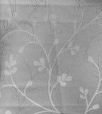Stile monotono dell'annata del fondo del tessuto del retro modello senza cuciture floreale del pizzo Fotografie Stock Libere da Diritti