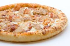 Stile occidentale della pizza Fotografia Stock Libera da Diritti