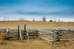 Stile over a fence along the Blue Ridge Parkway.dng Royalty Free Stock Photography
