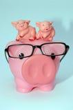 Stile piggy Parenting fotografia stock libera da diritti