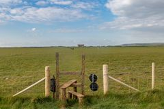 A Stile in Rural Sussex royalty free stock photo