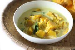 Stile sabahan della minestra della zucca Immagini Stock