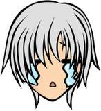 Stile sveglio dell'emoticon immagine stock