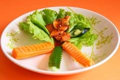 Stile tailandese del barbecue Fotografia Stock Libera da Diritti