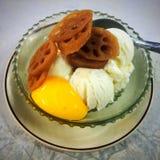 Stile tailandese del gelato Fotografia Stock Libera da Diritti