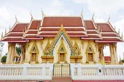 Stile tailandese del tempiale Fotografie Stock