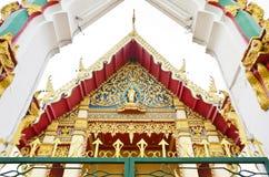 Stile tailandese del tempiale Fotografie Stock Libere da Diritti