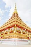 Stile tailandese del tempiale in Khon Kaen Tailandia Fotografia Stock Libera da Diritti