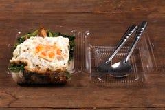 Stile tailandese dell'alimento Immagini Stock Libere da Diritti