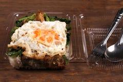 Stile tailandese dell'alimento Fotografie Stock