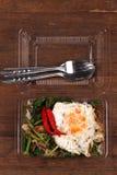 Stile tailandese dell'alimento Fotografia Stock