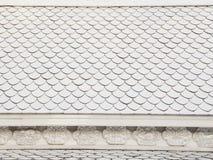 Stile tailandese delle mattonelle di tetto Immagini Stock Libere da Diritti