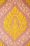 Stile tailandese di arte di struttura Immagini Stock