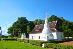 Stile tailandese nordico che sviluppa centro culturale Nan, Tailandia immagini stock libere da diritti