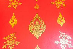 Stile tailandese tradizionale Fotografie Stock