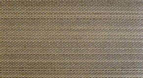 Stile tailandese tradizionale Brown scuro e superficie di legno di struttura del fondo del modello del tessuto del rattan dell'ar Fotografia Stock Libera da Diritti