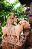 Stile tailandese tradizionale uno di zodiaco 12 Fotografie Stock Libere da Diritti