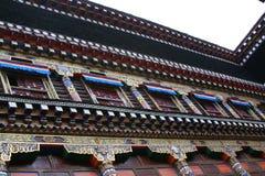 Stile tibetano Immagine Stock