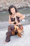 Stile tribale Fotografia Stock