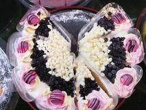 Stile variopinto del dolce da mangiare Fotografie Stock