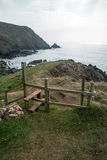 Stile on the way to coverack Royalty Free Stock Photos