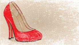Stiletto Heel Grunge Stock Photo
