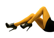 Stiletto heels Royalty Free Stock Images