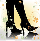 Stiletto heels stock images