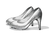 Stiletto Royalty Free Stock Image