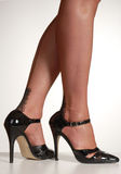 Stilettos & stockings Royalty Free Stock Photography