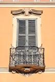 stilfull balkong Arkivbilder