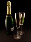 stilfull champagne Royaltyfri Fotografi