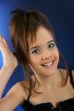 stilfull flicka Arkivfoton