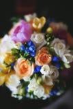 Stilfull formgivare Wedding Flowers Royaltyfri Fotografi