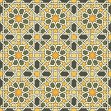 stilfull geometrisk prydnad stock illustrationer