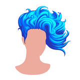 Stilfull kvinnlig frisyr Royaltyfri Foto