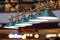 Stilfull lampa Royaltyfria Foton