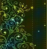Stilfull ljus blom- bakgrund Royaltyfria Bilder