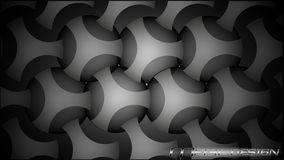 Stilfull metallbakgrund stock illustrationer