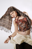 stilfull modemodell Royaltyfri Fotografi