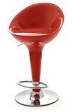 stilfull röd stol för stång Arkivbilder