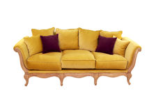 stilfull sofa Royaltyfria Foton