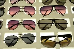 stilfull solglasögon Royaltyfri Foto