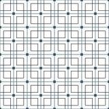 Stilfull svartvit monokrom geometrisk grafisk modell Arkivbild