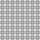 Stilfull svartvit monokrom geometrisk grafisk modell Arkivfoto