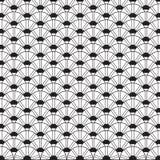 Stilfull svartvit monokrom geometrisk grafisk modell Vec Royaltyfri Foto