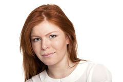 Stilfull ung europeisk kvinna för blandat lopp - materielbild Arkivbild