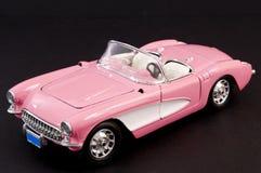 stilfulla klassiska rosa sportar för bil Royaltyfri Foto