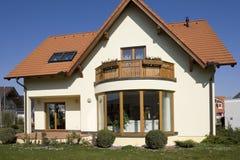 stilfullt hus Arkivbild