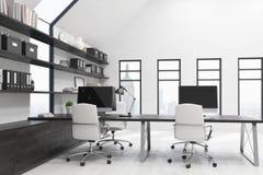 Stilfullt kontor i New York Royaltyfri Bild